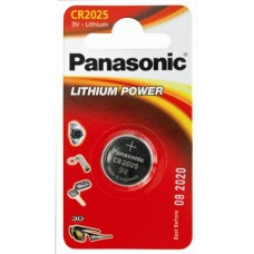 Батарейка Panasonic CR 2025 Lithium Power 3V (CR-2025EL/1B)