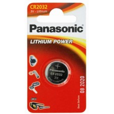 Батарейка Panasonic CR 2032 Lithium Power 3V (CR-2032EL/1B)