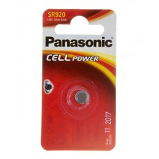 Батарейка Panasonic SR 920 Silver Oxide 1.55V (SR-920EL/1B)