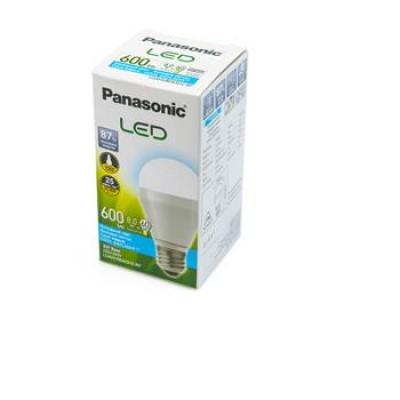 Светодиодная лампа Panasonic LED 8W (60W) 6500K 600lm E27