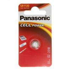 Батарейка Panasonic SR 1130 Silver Oxide 1.55V (SR-1130EL/1B)