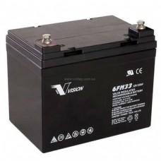 Аккумуляторная батарея Vision 12V 33Ah