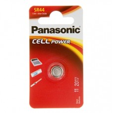 Батарейка Panasonic SR 44 Silver Oxide 1.55V (SR-44EL/1B)