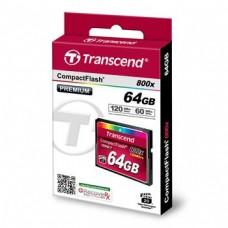 Карта памяти Transcend 64GB CF 800X