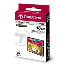 Карта памяти Transcend 16GB CF 1000X