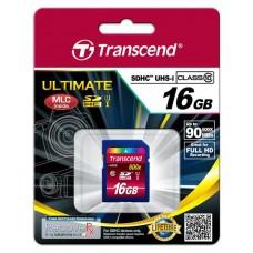 Карта памяти Transcend 16GB SDHC C10 UHS-I R90MB/s