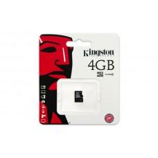 Карта памяти Kingston 4GB microSDHC C4