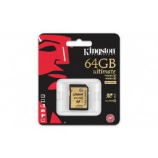 Карта памяти Kingston 64GB SDXC C10 UHS-I R90/W45MB/s