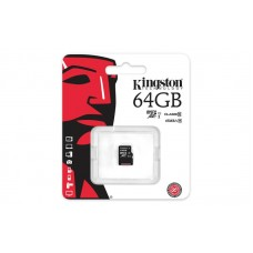 Карта памяти Kingston 64GB microSDXC C10 UHS-I R45/W10MB/s