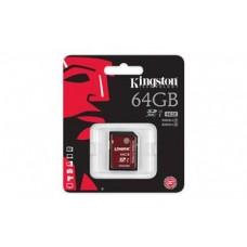 Карта памяти Kingston 64GB SDXC C10 UHS-I U3 R90/W80MB/s 4K
