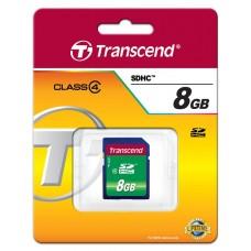 Карта памяти Transcend 8GB SDHC C4