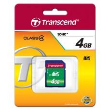 Карта памяти Transcend 4GB SDHC C4