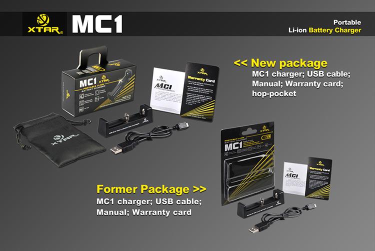 Комплект поставки Xtar MC1