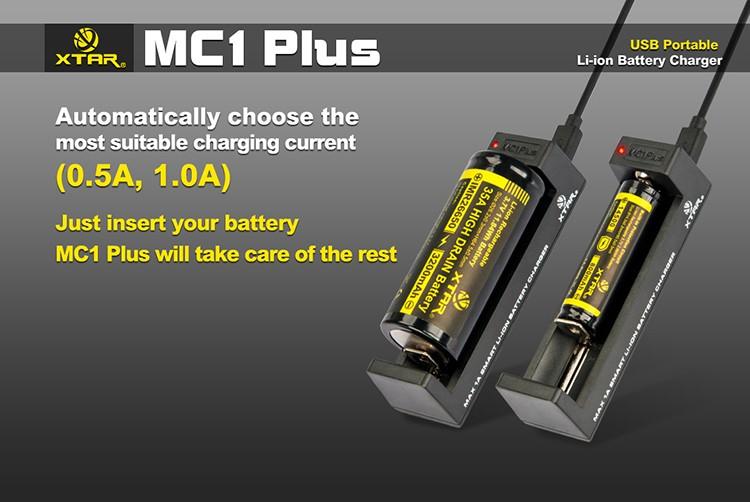 Автоматический выбор тока в Xtar MC1 Plus