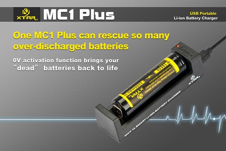 Активация сильно заряженных Xtar MC1 Plus
