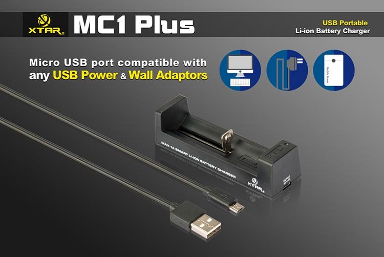 Подключение Xtar MC1 Plus