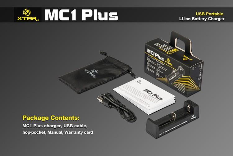 Комплектация Xtar MC1 Plus