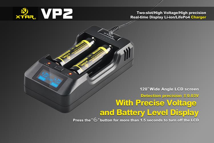 Информативный дисплей Xtar VP2