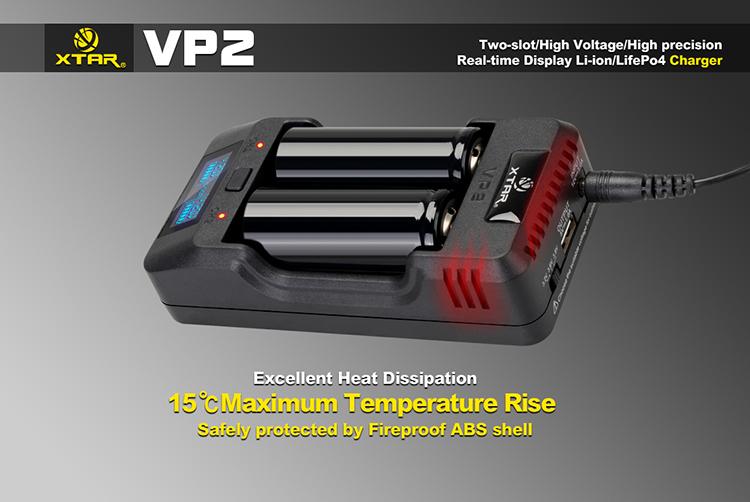 Тепловая защита в Xtar VP2